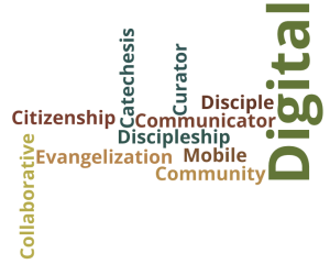 Digital Disciple Technology Competencies Word Cloud where no educator has gone before
