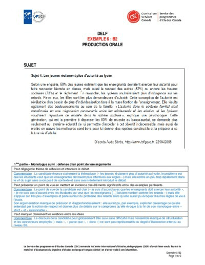 "Image du document ""Exemple 6 : B2 orales"""