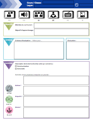 Image Of Editable Lesson Planning Template