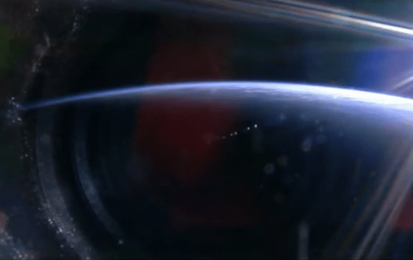 Elenin visto do espaço
