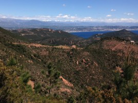 hiking in the cote d'azur