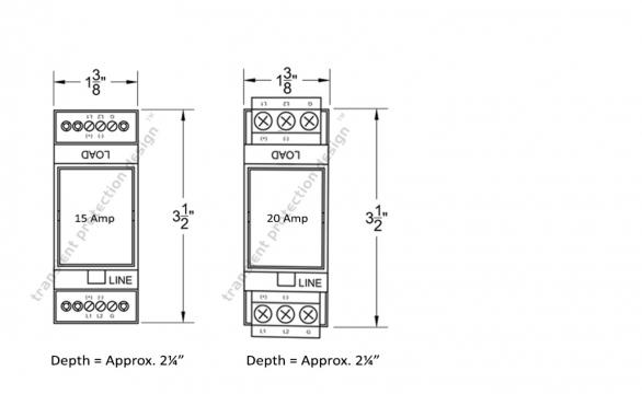 Individual Circuits Surge Protection 120V