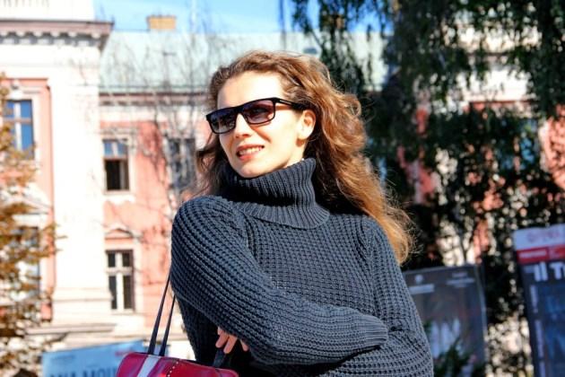 """Angelica Nicoară s-a născut în 15 ianuarie 1973 la Cluj-Napoca și a studiat cursurile Facultății de Teatru şi Televiziune a Universităţii """"Babeş-Bolyai"""" Cluj, promoţia 1998, clasa prof. Miriam Cuibus/Foto: Dan Bodea"""