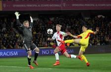 Claudiu Keșeru a ratat cele mai mari ocazii de gol ale României în meciul cu Danemarca (Foto: Dan Bodea)