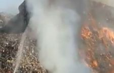 VIDEO/ Nou incendiu la Pata Rât