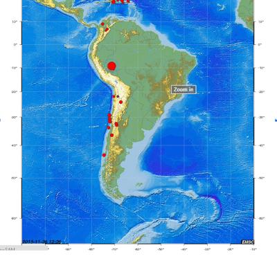 Erdbeben Peru