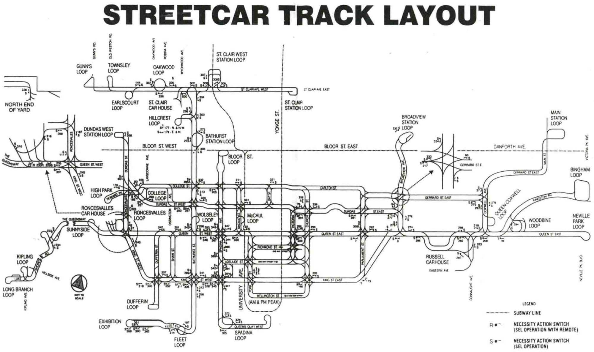 hight resolution of ttc track diagrams