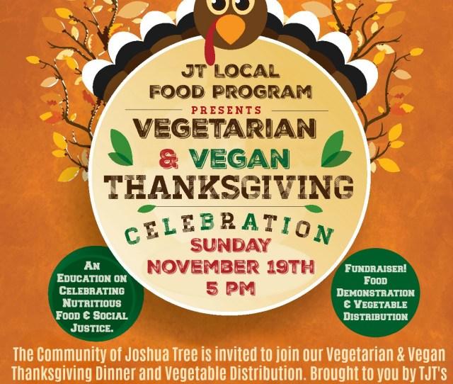 Jtlfp Vegetarian Thanksgiving Celebration