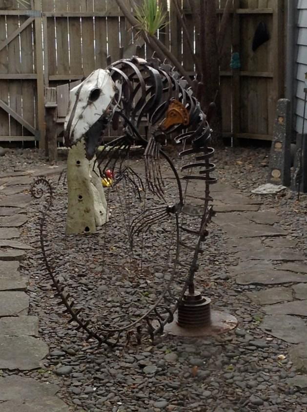 Pleisiosaur in the backyard