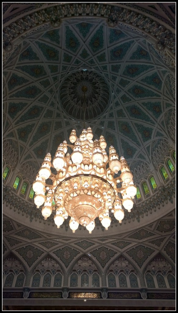 One of the largest chandeliers in the world..