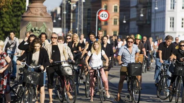 Copenhagen - The cycling capital of the world
