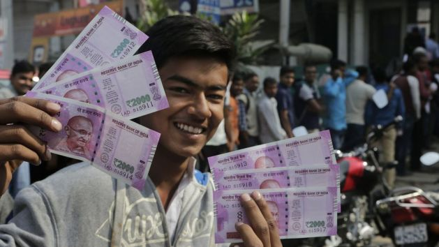 India's demonetization exercise