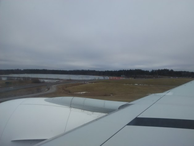Landing at Arlanda Airport