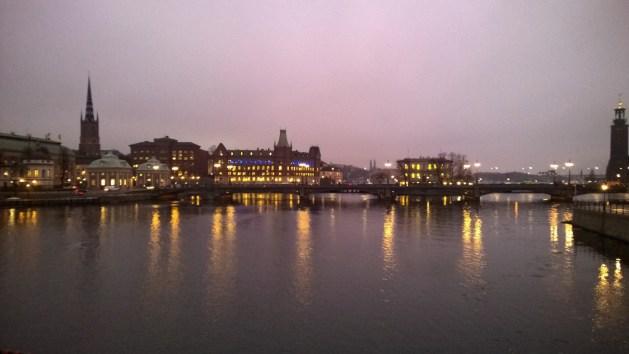 Helgeandsholmen Island in Stockholm
