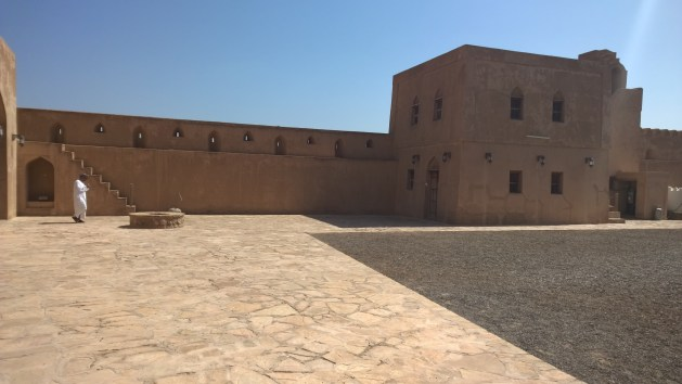 J for Jabrin Fort in Oman