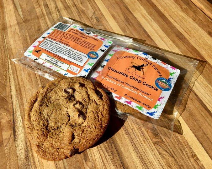 Cowboy Crickets chocolate chirp cookie