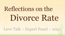 Reflections on the Divorce Rate Video