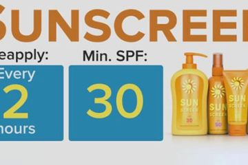 Sunscreen safety tips