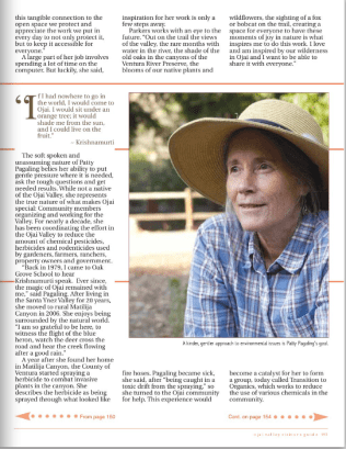 Ojai Visitors Guide Fall 2015 pg 152