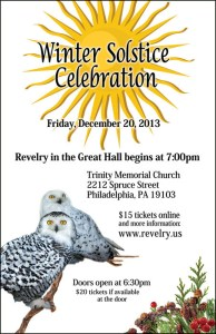 Winter Solstice @ Great Hall, Trinity Center for Urban Life | Philadelphia | Pennsylvania | United States