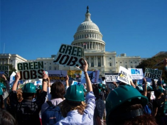 Green JObs Protest