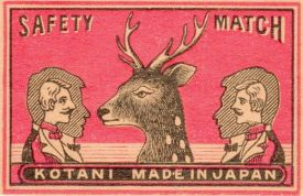 Awesome vintage matchbox.