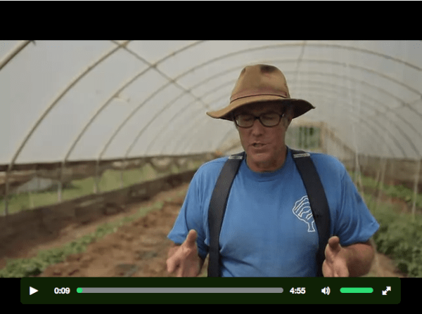 Joel Salatin in Kickstarter video