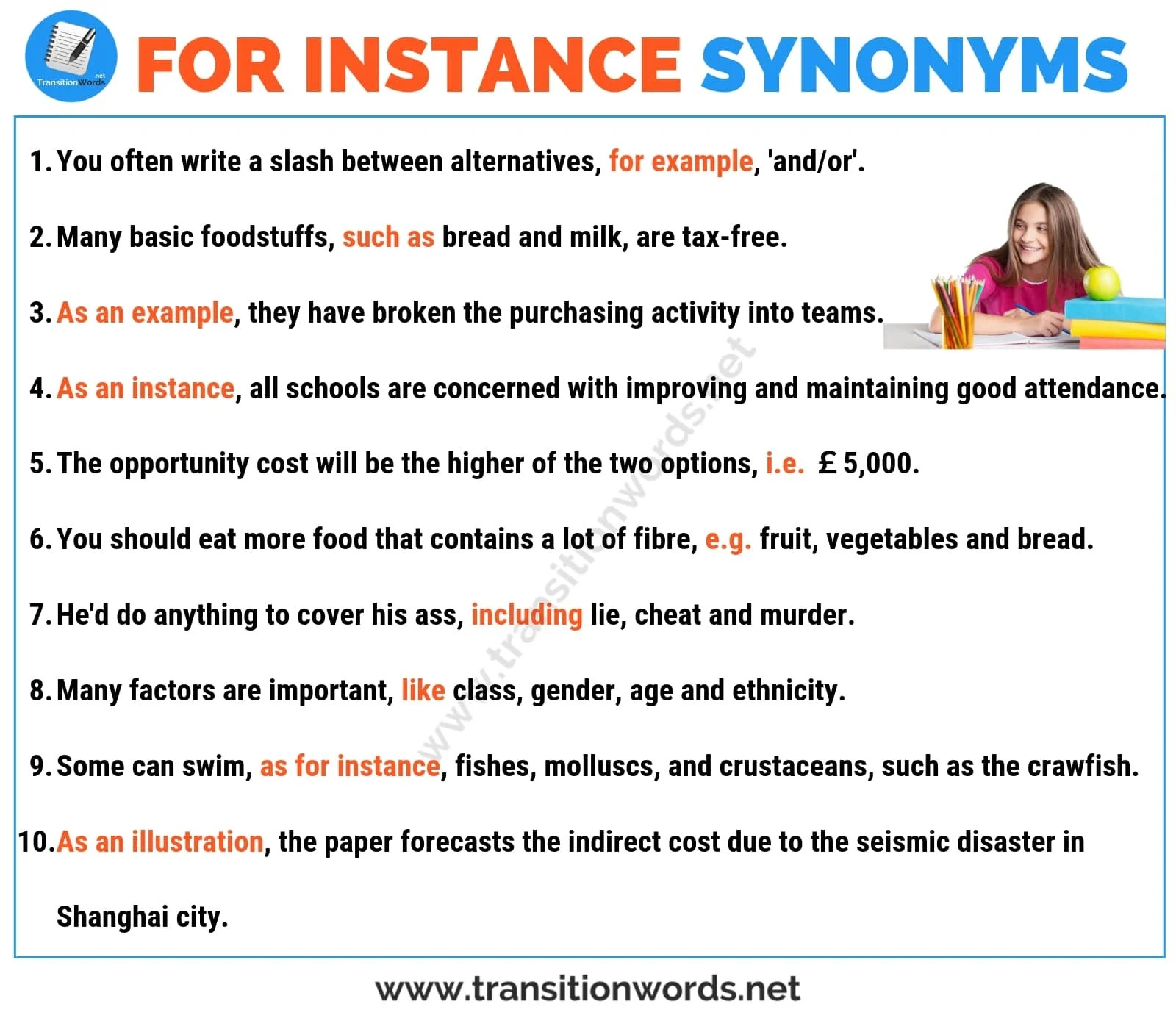For Instance Synonym 18 Helpful Synonyms For For Instance