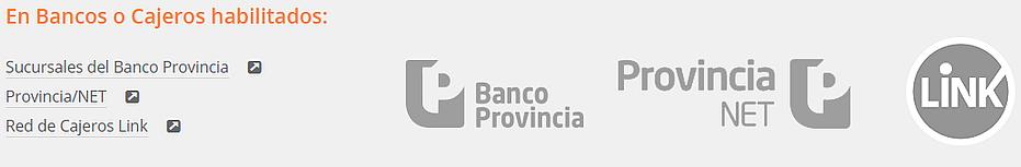 Pagar en cajeros multas de transito de la Provincia de Buenos Aires
