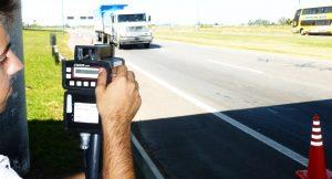 Radar de velocidad y multas