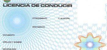 Licencia de conducir de Cordoba