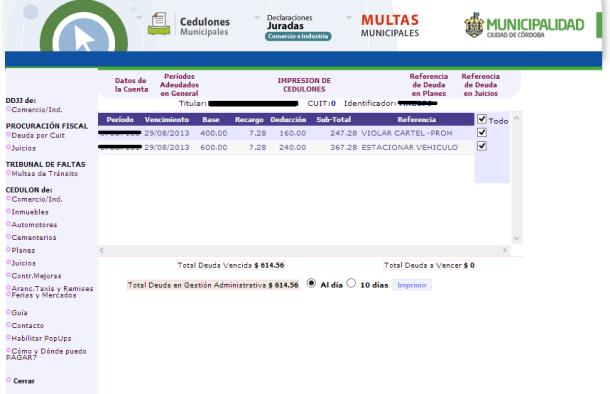 Impresion-de-cedulon-de-multas-de-transito-de-la-Municipalidad-de-Cordoba