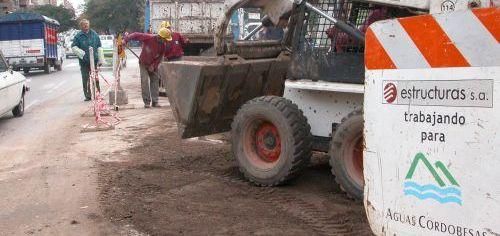 Obras Aguas Cordobesas (Foto: Comercio y Justicia)
