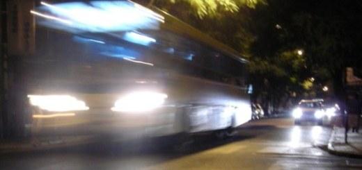 Colectivos de noche. (Foto: Agencia EFE)