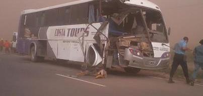 Choque Ruta 17 Cañada de Luque (Foto: @maurypompas)
