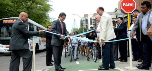 Inauguración Bicisenda (Foto: Municipalidad de Córdoba)