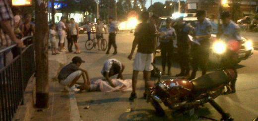Accidente fatal en Av Ricardo Rojas (Foto: @GragliaPaulo)