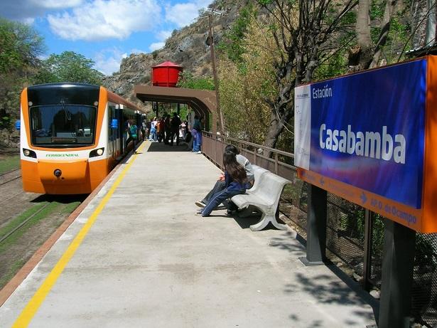 Tren de las Sierras en Estacion Casabamba (Foto: Panoramio)