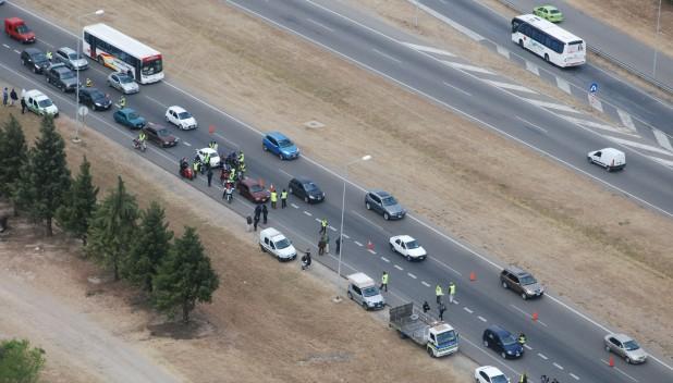 Control caminera autopista carlos paz