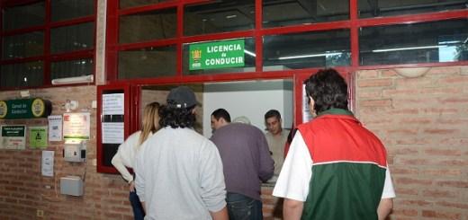 Carnet de conducir de la ciudad de Cordoba CPC Arguello