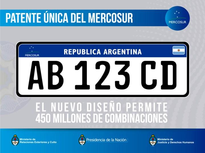 Patente unica del Mercosur - 450 millones de combinaciones