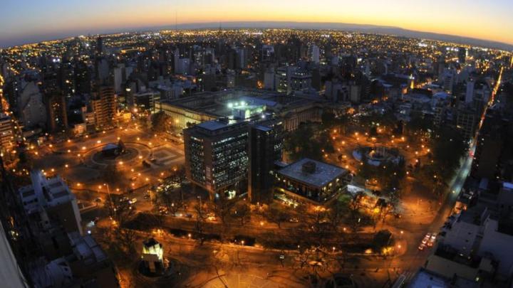 Vista aérea del Palacio Municipal 6 de julio, sede del Gobierno Municipal. Todo: twitter @carito_riveros