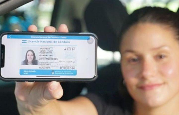 Licencia de conducir nacional digital