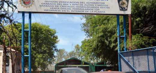 Planta verificacion policial Cordoba