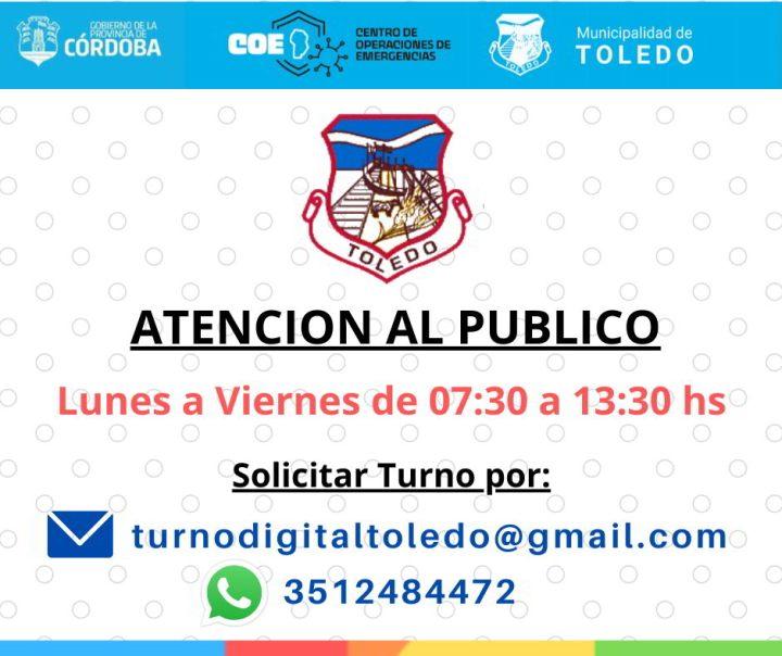 Carnet de conducir Municipalidad de Toledo Cordoba