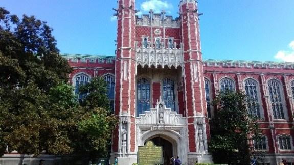 OUのシンボルとされる図書館