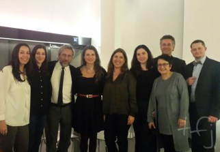 The tfj team with Can Dündar