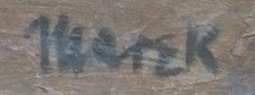 Marek signature, late 1950s
