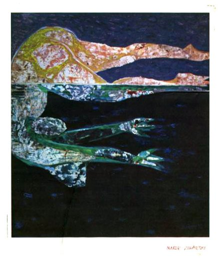 'Night Swimmer' by Marek Zulawski, mid-1970s