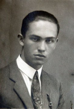 Marek Zulawski when he was 18 years old in 1926
